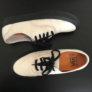 Vans X Our Legacy Collab Unisex Sneakers Cream